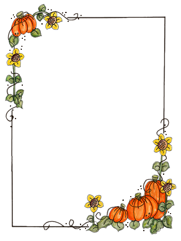 bordures de pages halloween coloring - photo#1